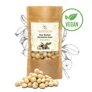 RAW SHELLED MACADAMIA NUTS (whole kernels)